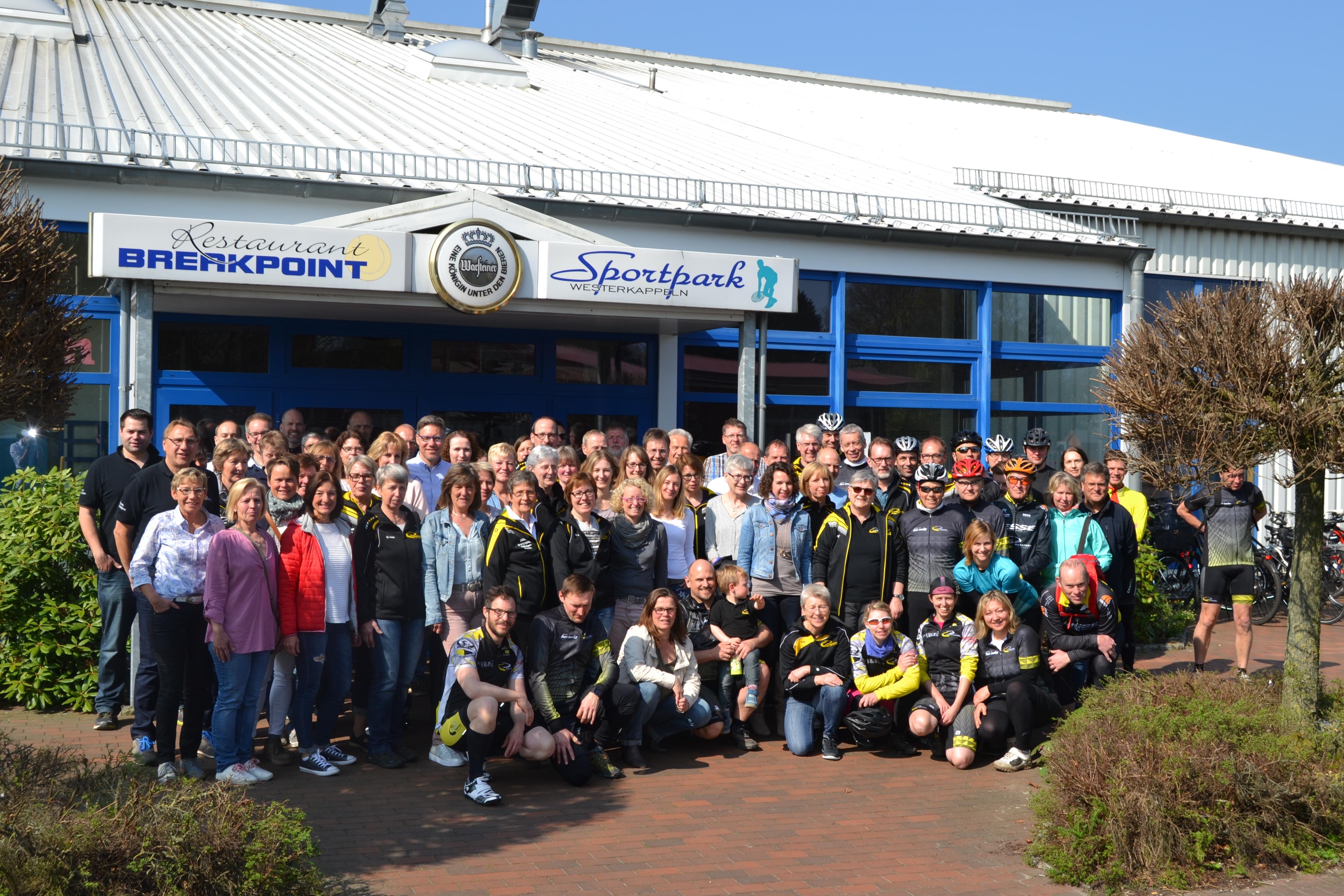 Marathon Ibbenbüren Saisoneröffnung Gruppenfoto