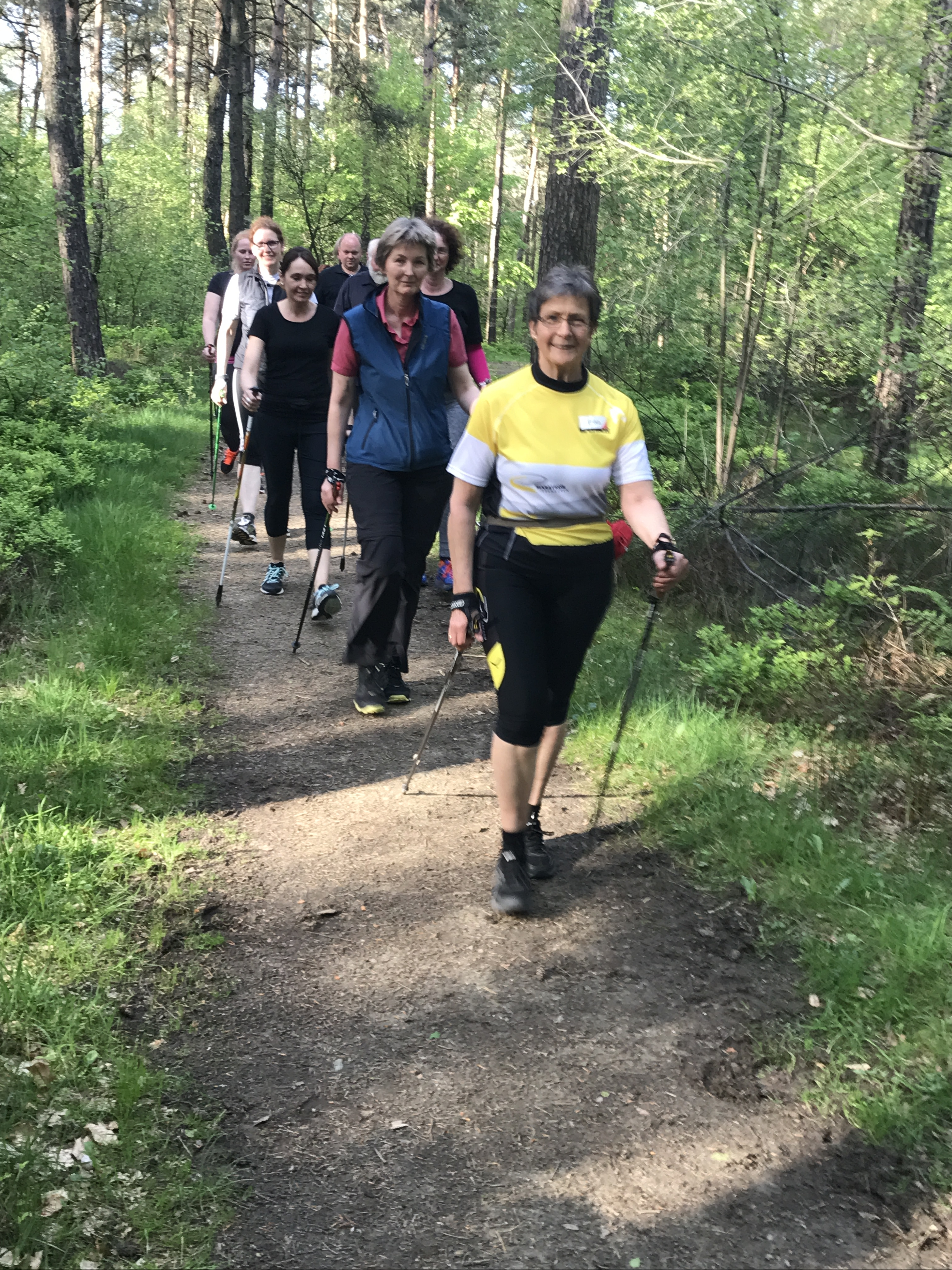 Anfängerkursus Nordic Walking