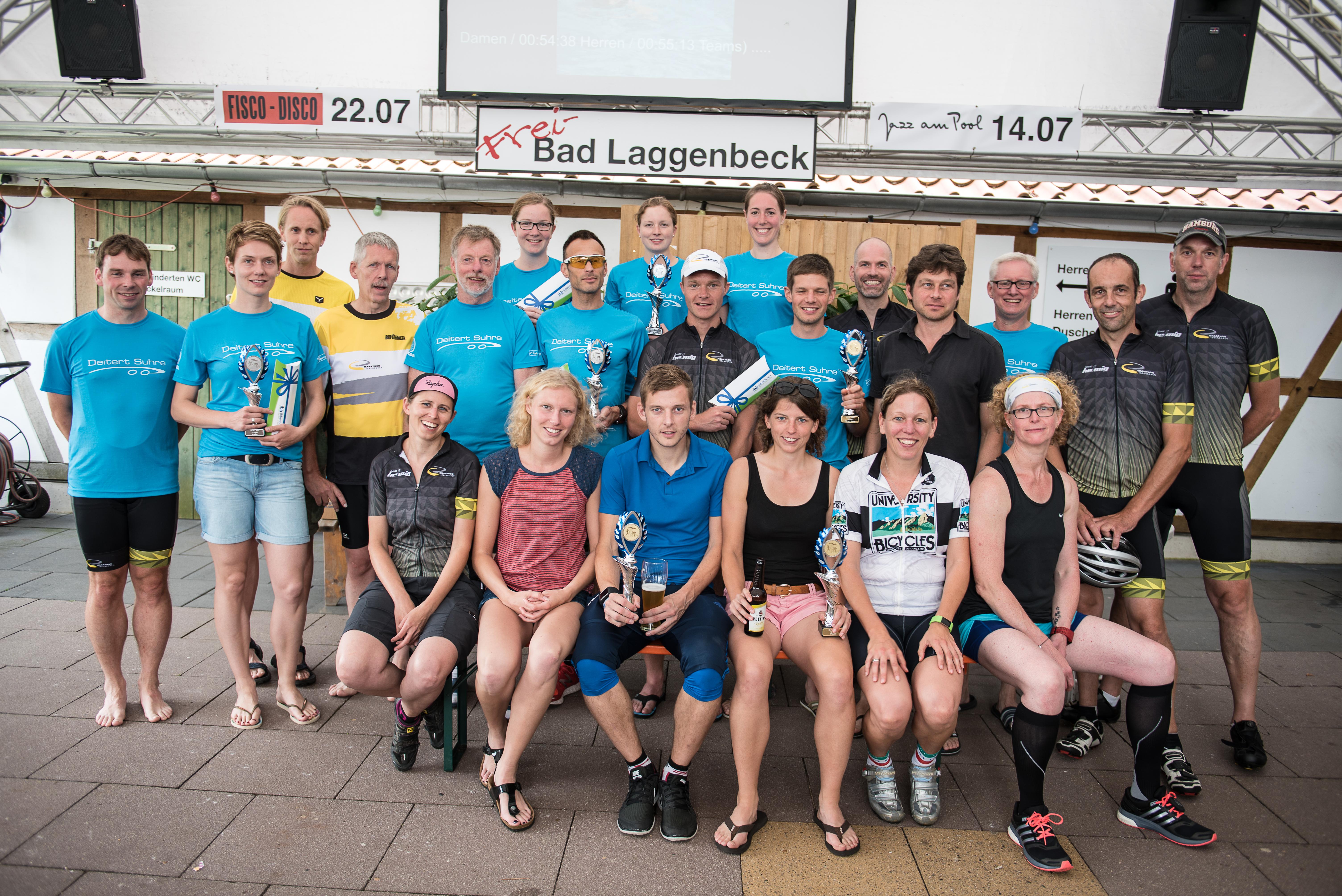 Das größte Team schickte der Ausdauersportverein Marathon Ibbenbüren.