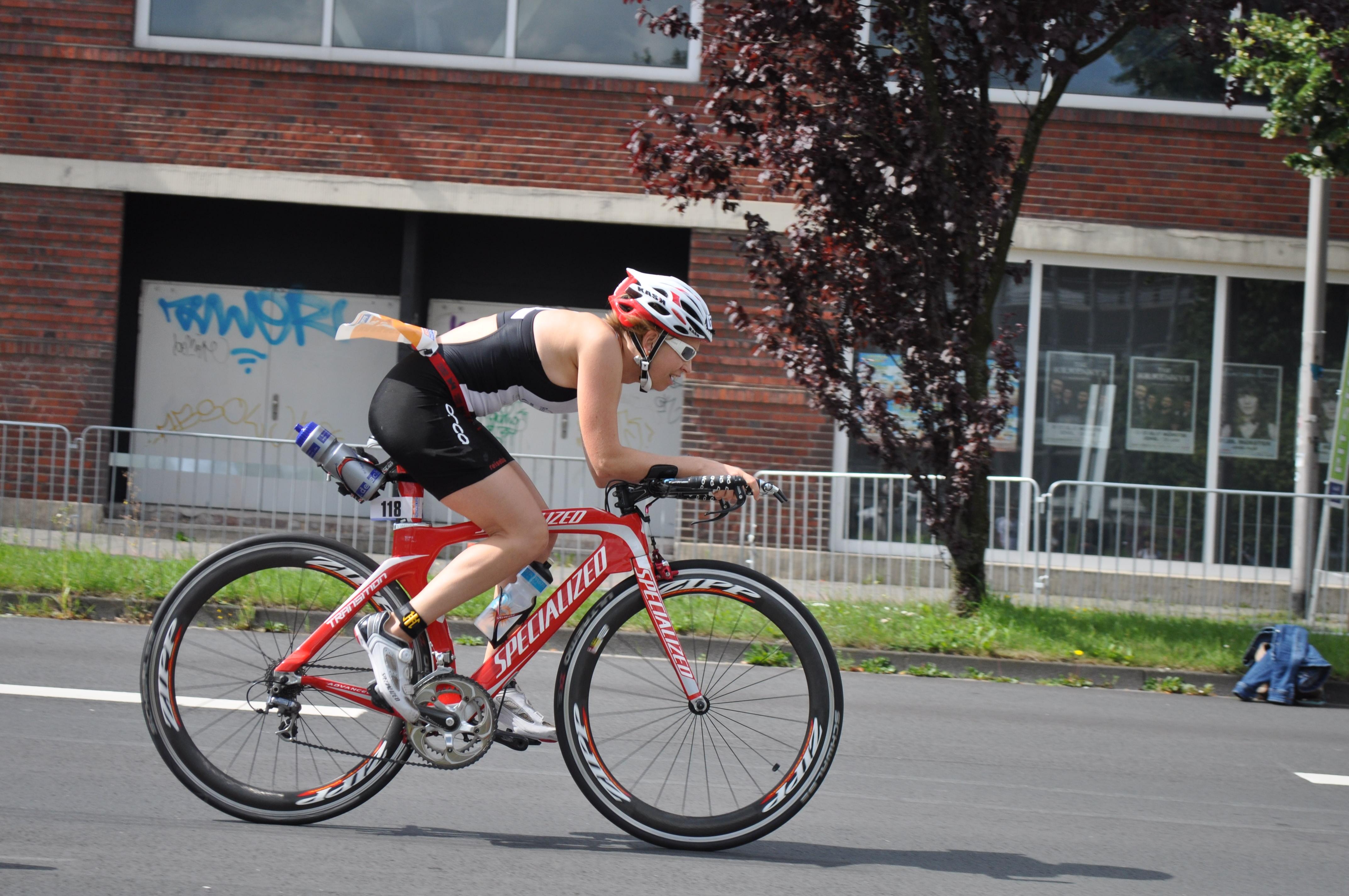 Jutta Lindemann Triathlon Münster
