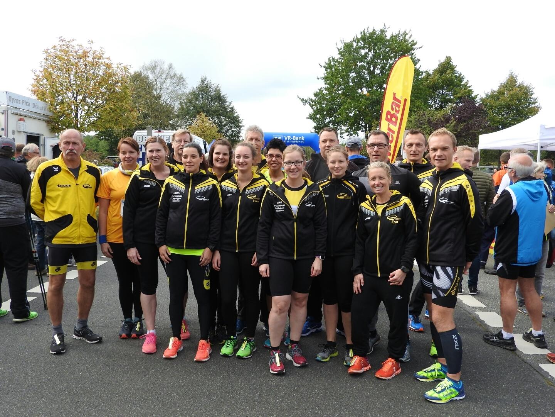 Gruppenfoto vor dem 5-km-Start
