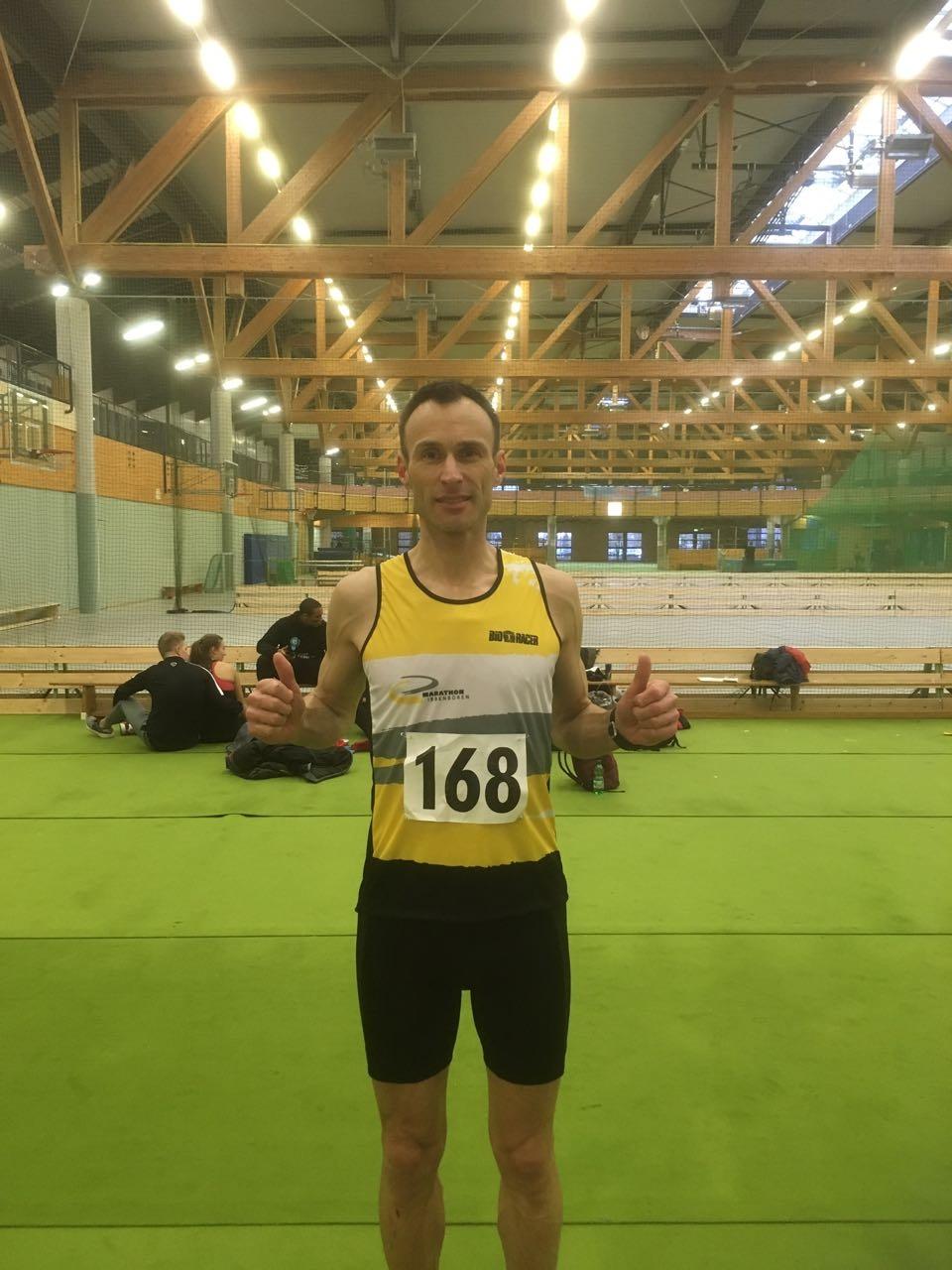 Stefan Gode bei der Ostwestfalenmeisterschaft
